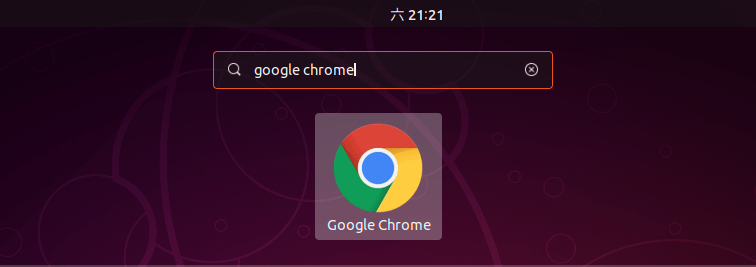google chrome gnome