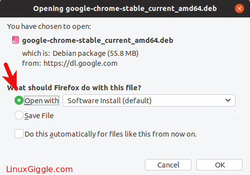 google chrome ubuntu 18.04